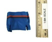 Fire Girl Cheerleader Uniform - Miniskirt (Blue)