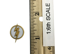 The Scarlet Speedster - Flash Emblem (Yellow & White) (Magnetic)