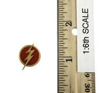 The Scarlet Speedster - Flash Emblem (Yellow & Red) (Magnetic)