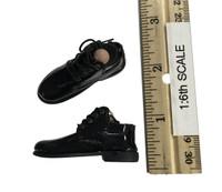 Jordan Belfort - Black Lace Up Shoes w/ Ball Joints