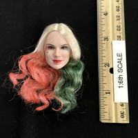 Cosplay Female Clown - Head (Multi-Colored Hair) (No Neck Joint)