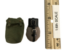 WWII German Grossdeutschland Division Equipment Set - Kettle w/ Pouch
