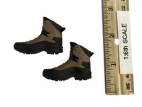 Tactical Female Shooter Clothes Set (Camo) - Boots (No Ball Joints)