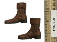 Fantastic Beasts: Newt Scamander - Shoes w/ Unique Peg Joints (See Note)