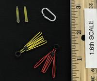 Armed Maid Set 2.0 - Accessories (Cuffs, Lock Clip & Light Sticks)