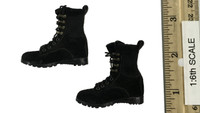 Armed Maid Set 2.0 - Black Lace Up Boots (No Ball Joints)