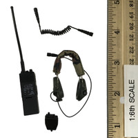 PMC Private Military Contractor & Dog - Radio System