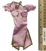 Super Duck Chun Li Cosplay Set - Cheongsam (Pink)