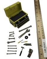 Female Mechanic Character Set (CT007-A) - Tool Box w/ Tools