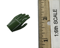 Female Mechanic Character Set (CT007-C) - Left Gloved Relaxed Hand