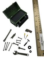 Female Mechanic Character Set (CT007-C) - Tool Box w/ Tools