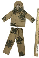 Soviet Female Sniper Uniform Set - Autumn Amoeba Camo Suit