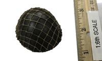 "IJA 32nd Army 24th Division ""Takuya Hayasi"" - Helmet (Type 90)"