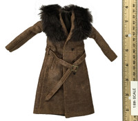 """""""The Prisoner"""" Daisy Domergue - Leather Trench Coat"""
