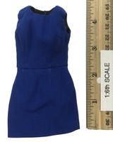 Office Lady Female Dress Suit Sets - Dress (Blue)