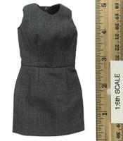 Office Lady Female Dress Suit Sets - Dress (Gray)