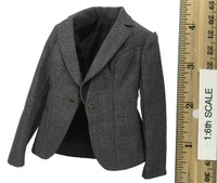 Office Lady Female Dress Suit Sets - Jacket (Gray)