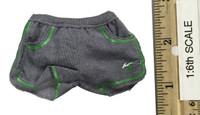 Fashion Fitness Wear - Sports Shorts (Green)