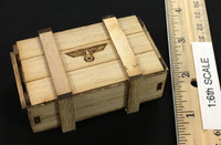 WWII German 9th Army Wehrmacht - Wooden Crate