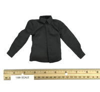 Black Dress Suit Set - Shirt