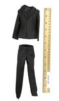Black Dress Suit Set - Suit
