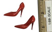 Mini Cheongsam Sets - High Heels (Red)