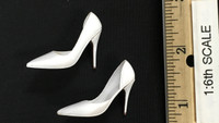 Mini Cheongsam Sets - High Heels (White)