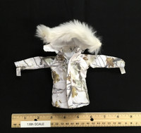 "The Snow Queen ""Shirley"" - Coat w/ Fur Collar"