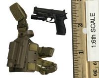 Naval Mountain Warfare Special Forces - Pistol (MK24) w/ Dropleg Holster