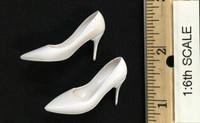 Flight Attendant Dress Sets - High Heels (White) (For Feet)