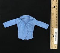 Chicken Dinner Female Combat Set - Shirt (Blue)