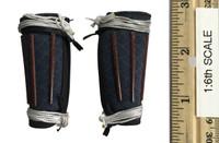 Japanese Ashigaru: Spearman (Yari) - Leg Armor (Jambeau)