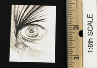 The Silence of the Lambs: Hannibal Lecter (White Prison Uniform Version) - Eye Drawing