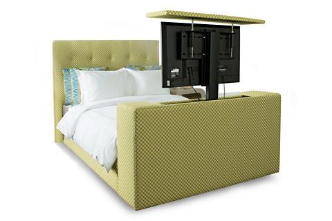 tv lift bed avery boardman. Black Bedroom Furniture Sets. Home Design Ideas