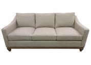 Custom #147 Sofa with Custom Wood Base - ACK#42044