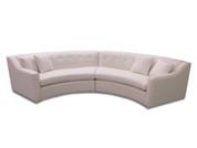 Custom Curved Sofa