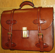 Handmade Leather Briefcase/Computer case