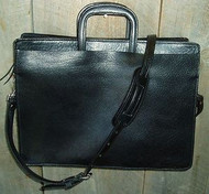 Handmade Softside Leather Briefcase