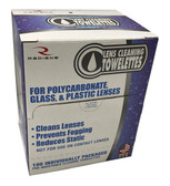 Radians® Premium Lens Cleaning Towelettes ## LCD100 ##