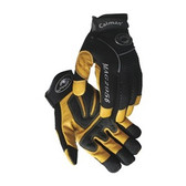 Caiman® Natural Pigskin Leather Mechanics Gloves  ## 2956 ##