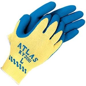 ATLAS® Latex Palm Coated Cut Resistant Gloves  ## KV300 ##