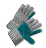 Double Palm Leather Work Gloves  ## 535 ##