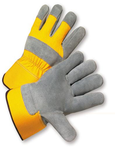 Select Cowhide Palm Work Gloves - 524  ## 524 ##