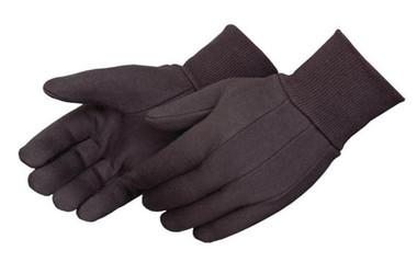 10oz Weight Brown 100% Cotton Jersey Gloves  ## 344 ##