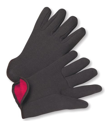 14oz Red Jersey Lined Gloves  ## 4308Q/RM ##