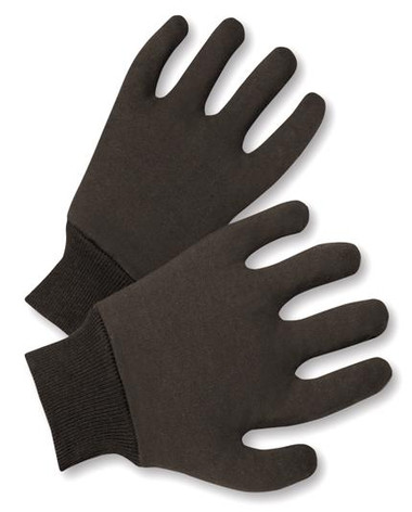 14oz Red Jersey Lined Knit Wrist Gloves  ## 4303RM ##