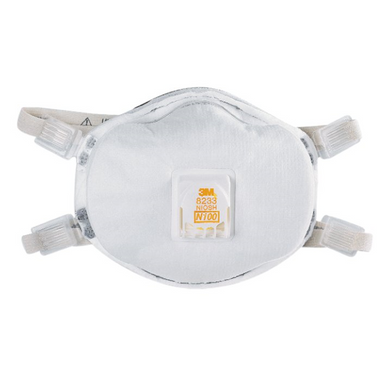 3M 8233 N100 Particulate Respirators  ## 3MR8233 ##