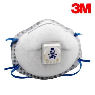 3M 8577 N95 Particulate Respirators  ## 3MR8577 ##
