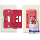 6 Pack - NORTH® E-SAFE® Electrical Switch Lockout  ## ES01 ##