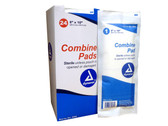 """8"""" X 10"""" Sterile Abdominal Combine Pads - Box of 24 Pads ##3-780 ##"""